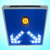 New Design Solar Traffic Sign / LED Flashing Road Sign for Speed Limit