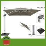 Side Post Aluminium Outdoor Garden Umbrella