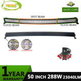 10-30V 288W 50inch CREE off Road LED Light Curved Bar