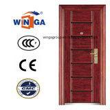 Sunproof Ce High Quality Swing Security Steel Door (W-S-118)