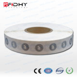 Rfidhy Clear Wet NFC Inlay Roll of 3000 - Ntag213 - 22 mm Circle