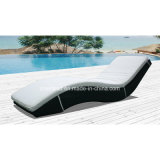 Outdoor Wicker Lounger for Swimming Pool with 5cm Cushion (7535)
