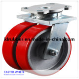 3-8 Inch Heavy Duty PU / Nylon / Rubber Caster Wheel