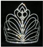 Big Tiaras &Crowns Best Bling Bride Hair Comb Accessories Pageant Crowns Tiara for Woman