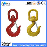 G80 Self-Locking Safety Swivel Hook with Latch