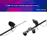 """1080P Telescopic Pole Security Check Visual Under Vehicle Scanning System with Two Cameras and 7"""" Monitor"""
