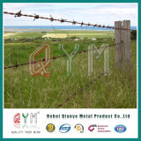 Hot Dipped Galvanized Barbed Wire Fencing/Barbed Wire Length Per Roll