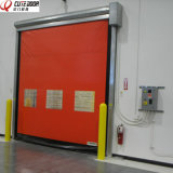 Industrial Automatic Self Repairing PVC Fabric High Speed Fast Rapid Door