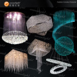 2013 European Ceiling Chandelier Crystal, Hotel Lighting Lamp, Home Light (Om07)