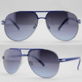 Women Fashion Quality Designer Polarized Sport Metal Sunglasses (14140)