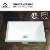 Ceramic Undercounter Sink with CSA 1633