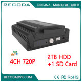 HDD Car Mobile DVR 2tb Automotive 720p DVR Recorder for Bus Truck