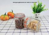 Food Grade Small-Sized Glass Honey Storage Jar with Airtight Glass Lid