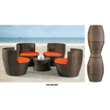 Rattan Backyard Furniture Set by Table+Chair