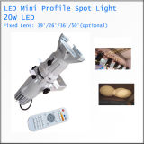 New Mini LED Gobo Projector Art Exhibition Lighting