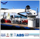 3t 15m Fix Boom Hydraulic Deck Marine Crane