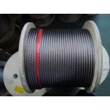 Stainless Steel Wire Rope 7 X 19 Aircraft Cable