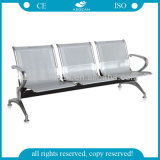 AG-Twc001 Fashionable Stainless Steel 3 Seats Waiting Room Chair