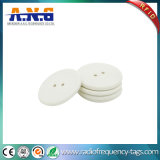 High Temperature Resist RFID Coin Tag UHF PPS Button Laundry Tag