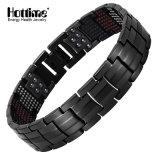591 PCS Energy Stones Fashion Titanium Steel Magnetic Bracelets