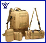 Large Volume Hiking Camping Backpack Miltary Bag Army Bag (SYSG-1813)