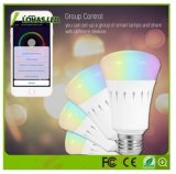E26 9W Color Changing Smart LED Bulb WiFi Controlled with Remote Controlor