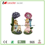 Hand Painted Polyresin Garden Fairy Figurine for Outdoor Decoration