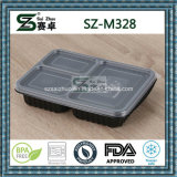 3 Compartment Leakproof Bento Lunch Box Container