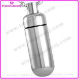 Ijd8075 Wholesale Cheap Pills Shape Cremation Pendant Necklace Ashes Keepsake Memorial Locket Holder