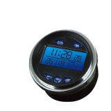 LED Digital Car Clock with Blue Backlight Display