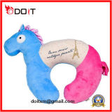 Colorful Multi-Function Horse Plush Stuffed Travel Pillow Office Pillow