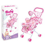 Girl Toys 12 Inch Doll with Baby Trolley (H8671243)