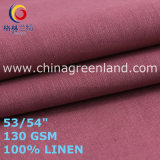 Linen Plain Fabric for Woman Garments Clothes (GLLML467)