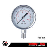 All Stainless Steel Liquid Filled Pressure Gauge (TYPE E)