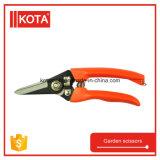 PVC Handle Garden Pruning Cutting Saw Scissors Tool Sharp Bypass Pruning Shear