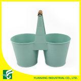 Wholesale Double Garden Flower Pots with Short Handle