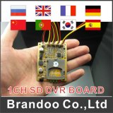 1CH Customized Car SD DVR Board