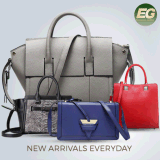 2017 Hot Fashion Tote Bag Genuine Leather Handbag Lady Leather Ladies Handbags Big Women′s Handbag with Pouch (EMG4701)