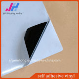PVC Digital Material Matte Black Self Adhesive Vinyl