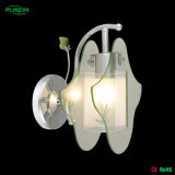 Indoor Wall Light with Glass Shade for Decoration
