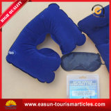 Promotion Square Shape Plastic Inflatable Pillow for Airplane