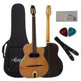 Aiersi Brand D Hole Maccaferri Semler Style Gypsy Guitar