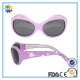 Lower MOQ Kids Polarized Sunglasses Silicone Frame for Girls
