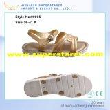 Golden EVA Fancy Lady Sandal, Fashion Summer Lady Sandal