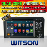 Witson Android 5.1 System Car DVD for Audi A3 (W2-F9763A)