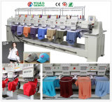 Wonyo 8 Heads 9/12 Colors Computerized Embroidery Machine for Cap, T-Shirt and Flat Embroidery Price in China with Ce, Gsg Certification