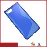 S Line TPU Gel Mobile Back Case for Blackberry Keyone-Mercury