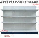Supermarket Gondola Shelving Perforated Back Panel Shelf