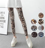 High Quality Stretchy Women′s Leopard Print Leggings (78032)