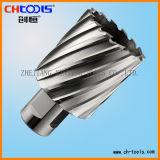 Weldon Shank Version P High Speed Steel Core Cutter